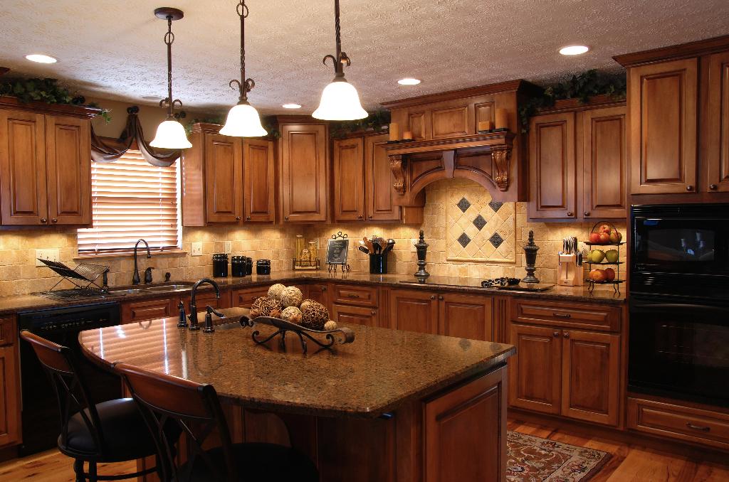 custom tile backsplash in newly remodeled kitchen hanover pa - Newly Remodeled Kitchens