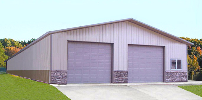 Pole buildings and sheds asj construction remodeling for Cost to build a pole barn house