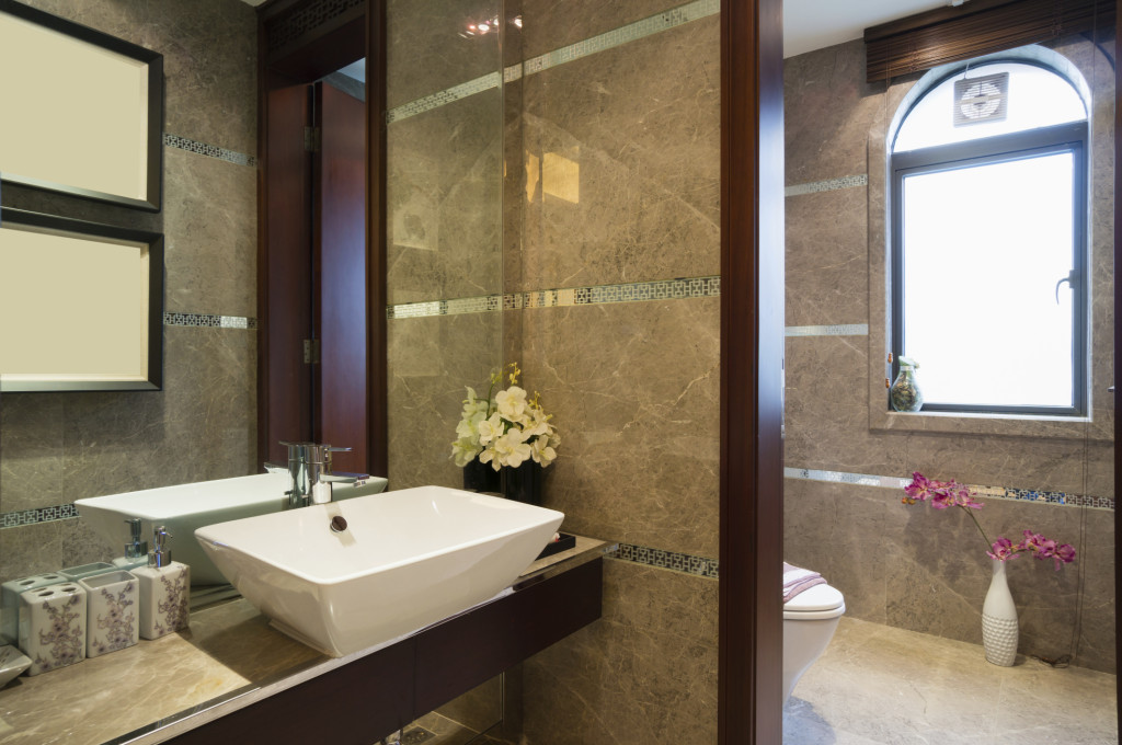 Another custom bathroom remodeling project in Hanover, PA by ASJ Construction