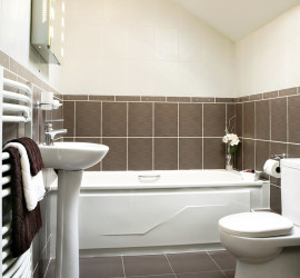 tiled bathroom in Hanover/York, PA