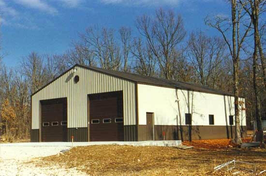 Pole buildings and sheds asj construction remodeling for 40x60 barn