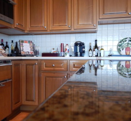 Granite Counter Top Installed By ASJ Construction
