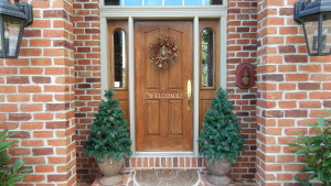 Door replacement by ASJ employees in Hanover, PA